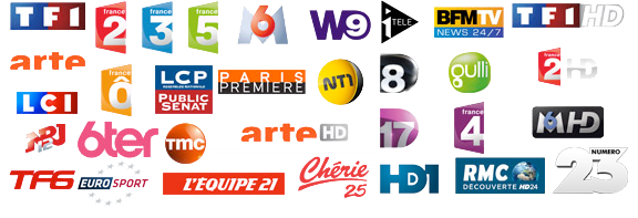 25 CHAINES TV  TNT